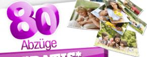 MYPIX : erhalten 80 gratis Abzüge auf Fotopapier.